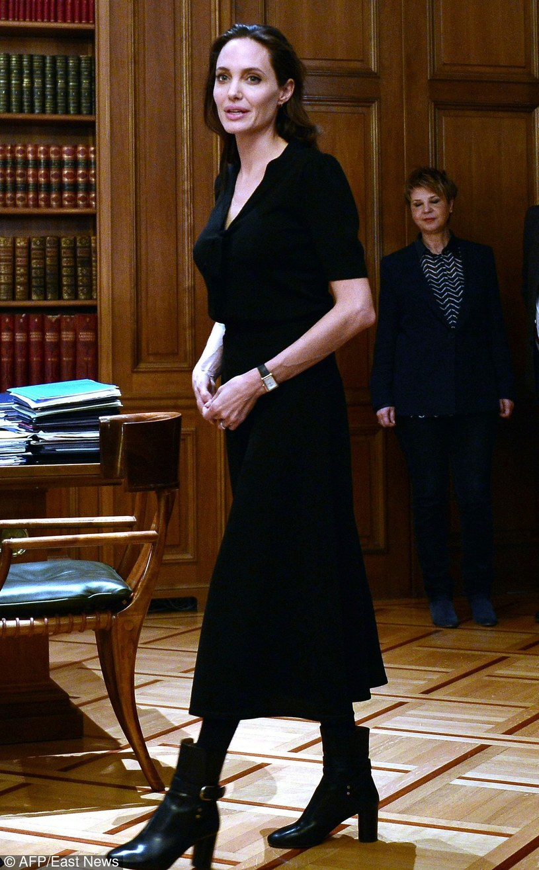 Angelina Jolie /LOUISA GOULIAMAKI /East News