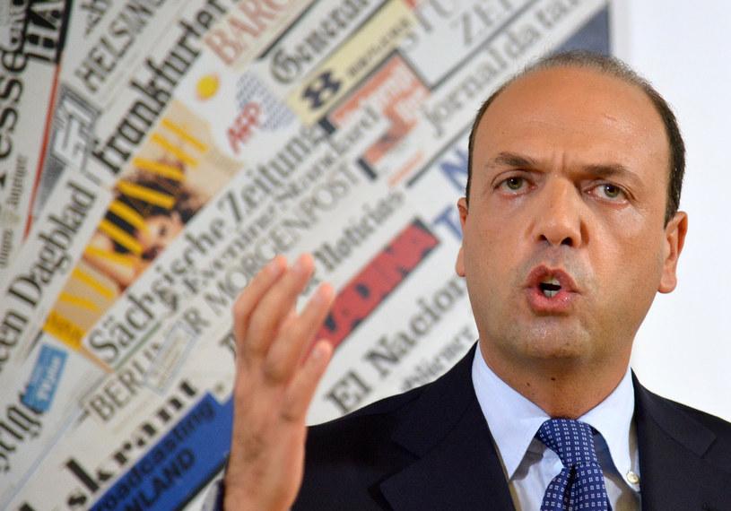 Angelino Alfano /AFP