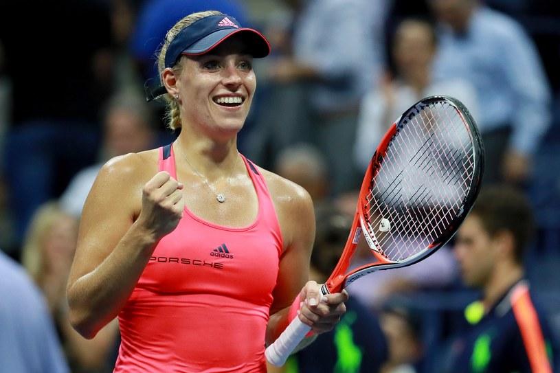 Angelique Kerber po awansie do finału US Open /AFP