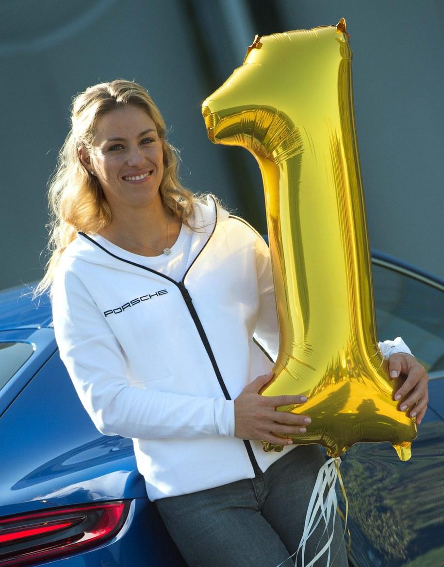 Angelique Kerber w piątek już wiedziała, że będzie numerem jeden światowego tenisa /MATTHIAS BALK /PAP/EPA