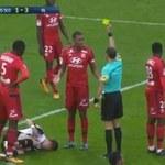 Angers - Olympique Lyon 3-3. Kuriozalna czerwona kartka Marcelo