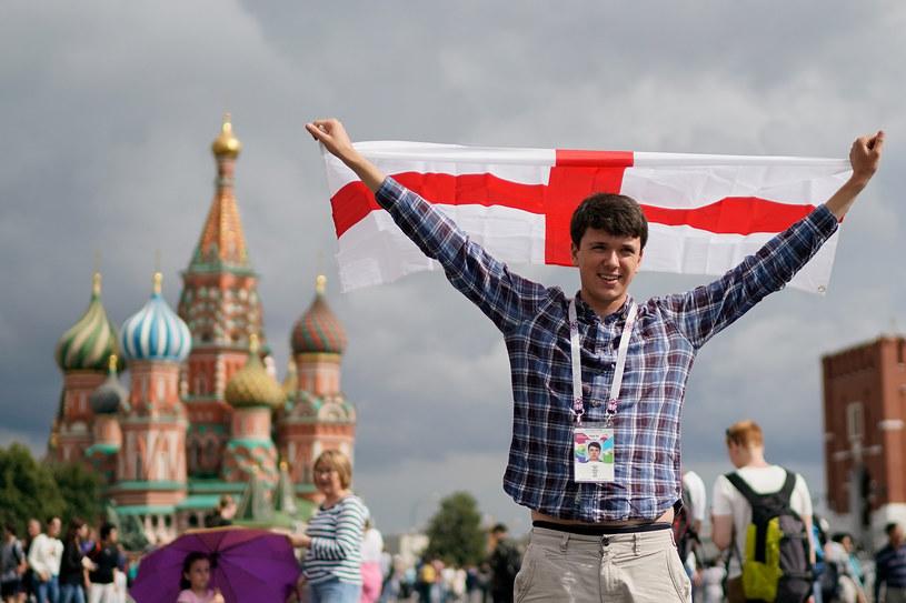 Angielski kibic w Moskwie /Getty Images