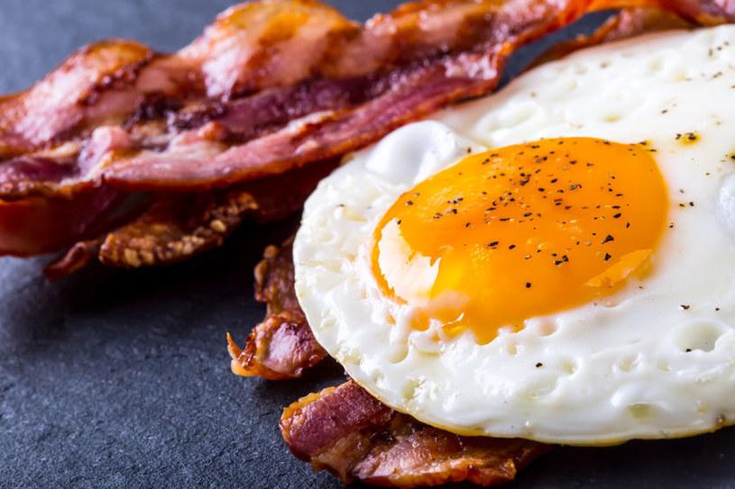 Angielskie śniadanie jest tłuste, ale pożywne /123RF/PICSEL