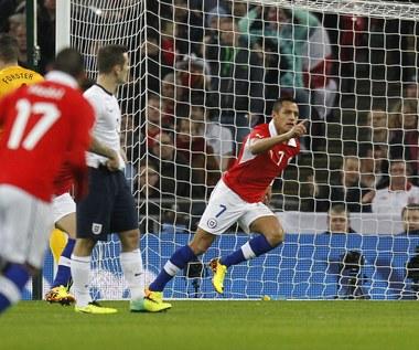 Anglia przegrała na Wembley z Chile 0-2