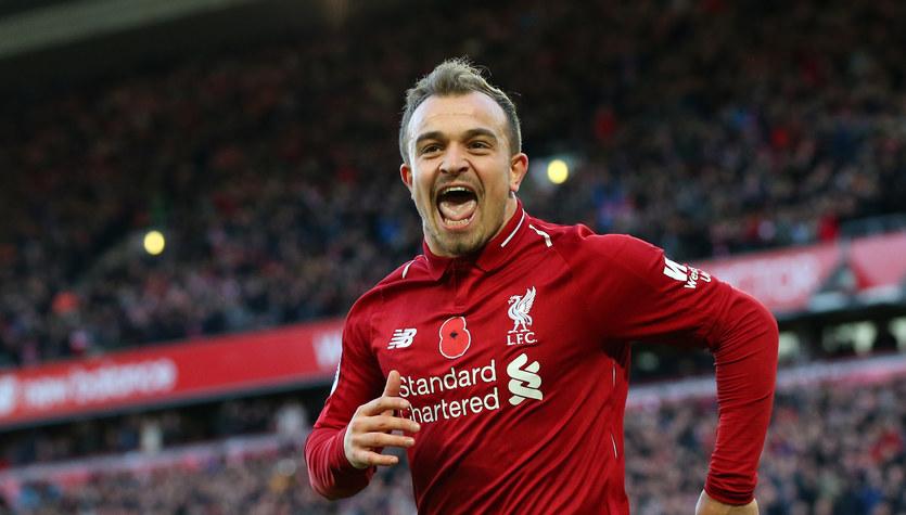 Anglia: Szlagier dla Liverpool FC, Xherdan Shaqiri bohaterem