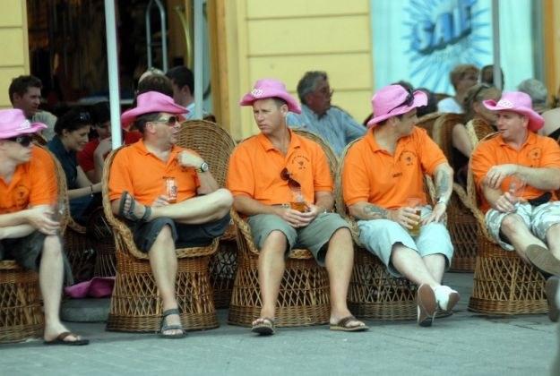 Anglicy na Rynku w Krakowie, fot. Lasyk /Reporter