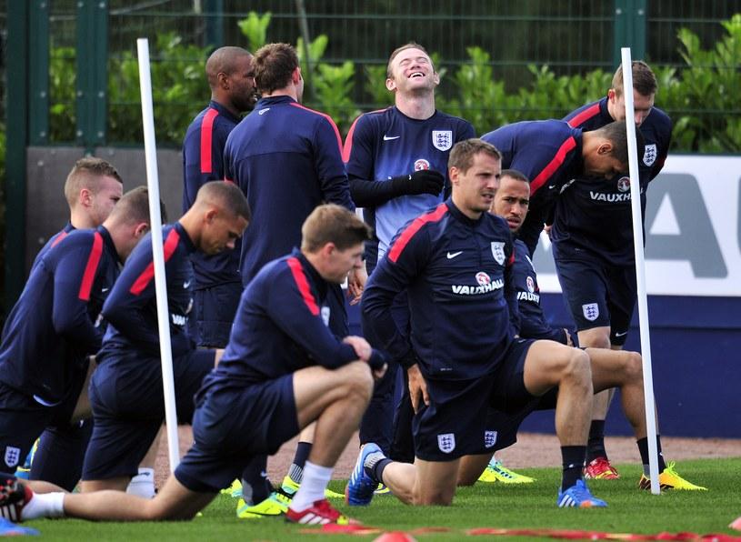 Anglicy trenują przed ostatnimi meczami eliminacji MŚ 2014 /AFP