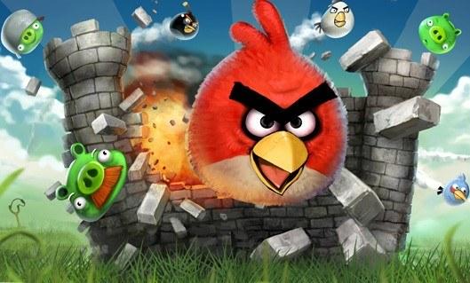 Angry Birds - motyw graficzny /Informacja prasowa