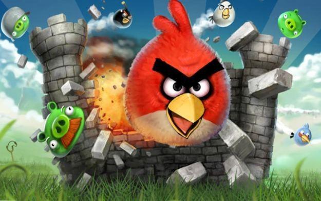 Angry Birds - motyw graficzny /