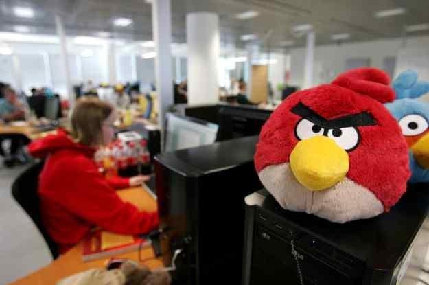 Angry birds pobrano juz 500 000 000 razy /AFP