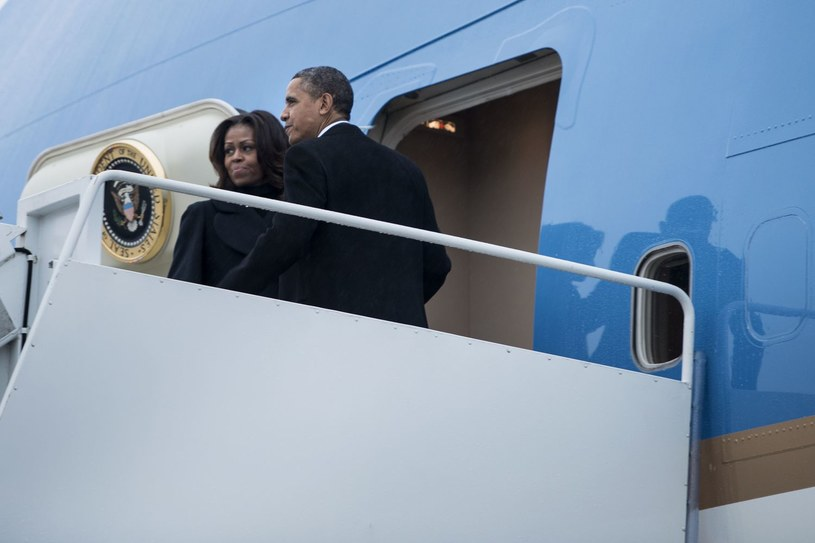 Ani Barack Obama, ani jego żona Michelle, nie pojawią się na otwarciu Olimpiady w Soczi /AFP
