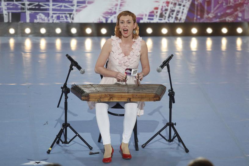 "Ania Broda na castingu do ""Mam talent"" /Grzegorz Press /TVN"