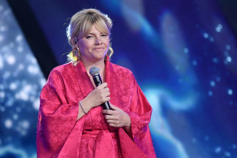 Ania Dąbrowska była jedną z gwiazd koncertu poświęconego twórczości Krzysztofa Krawczyka /LUKASZ KALINOWSKI /East News