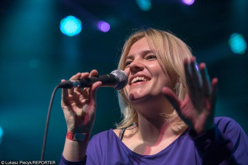Ania Dąbrowska w grudniu 2015 r. /Fot. Łukasz Piecyk /Reporter