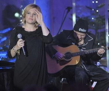 Ania Dąbrowska z brzuszkiem