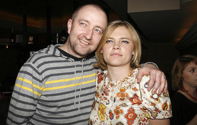 Ania Dąbrowska z partnerem Pawłem Jóźwickim, fot.J.Wojtalewicz  /AKPA