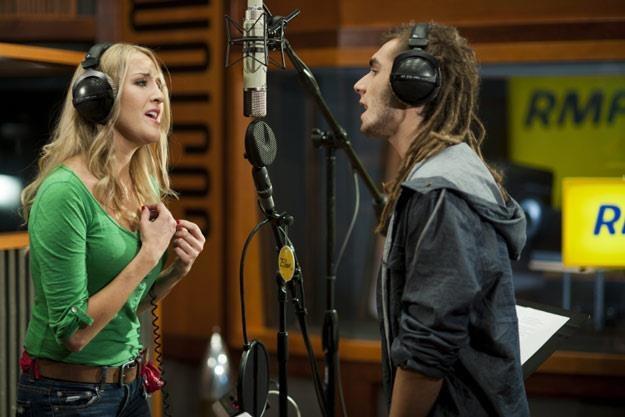 Ania Deko i Kamil Bednarek razem w studiu /RMF FM