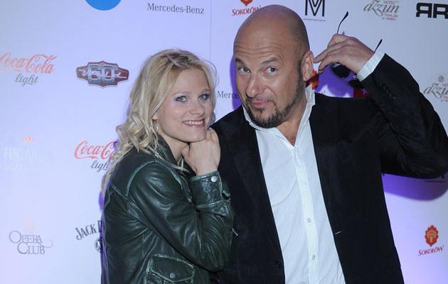 Ania Głogowska i Piotr Gąsowski fot. Andras Szilagyi  /MWMedia