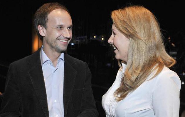 Ania Guzik z Jakubem, fot. Jacek Kurnikowski  /AKPA