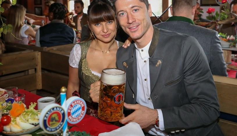 Ania i Robert Lewandowscy uczcili swoją 8. rocznicę ślubu /Rex Features /East News