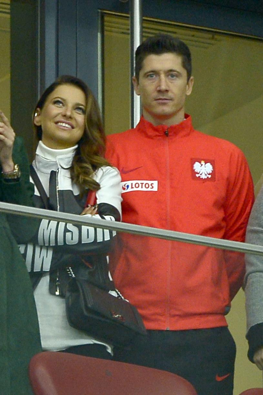 Ania i Robert Lewandowscy /Piętka Mieszko /AKPA