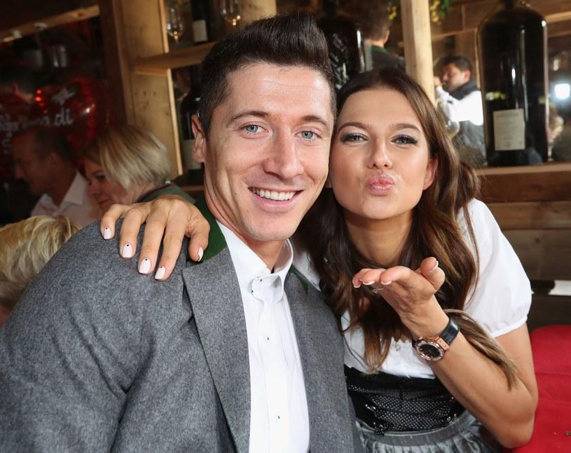 Ania i Robert Lewandowscy /Splashnews /East News