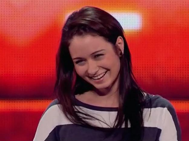 """Ania Kłys na pierwszym castingu - fot. """"X Factor"""" /TVN"""