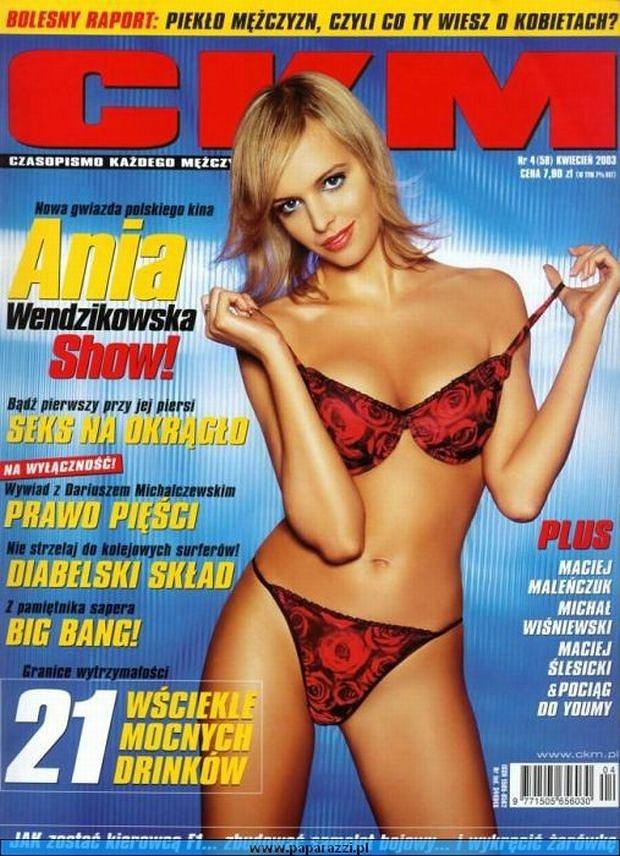 Ania kusiła ciałem już kilka lat temu na okładce magazynu dla panów! /- /materiały prasowe