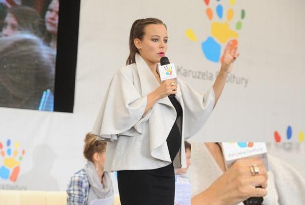 Ania Mucha w Świnoujściu, fot. Piotr Wygoda  /East News