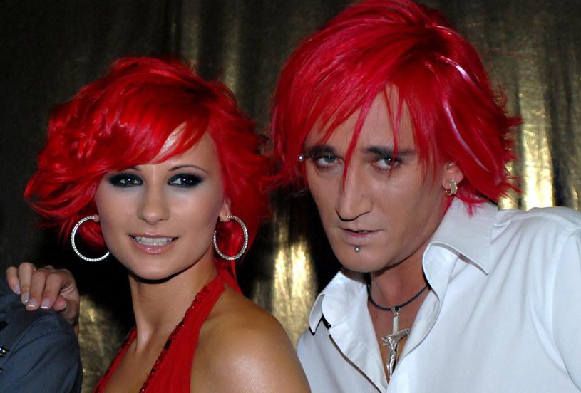 Ania Świątczak i Michał Wiśniewski w 2006 roku /VIPHOTO /East News