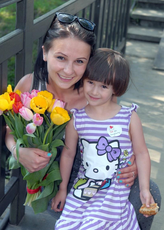 Ania Świątczak z córką /East News