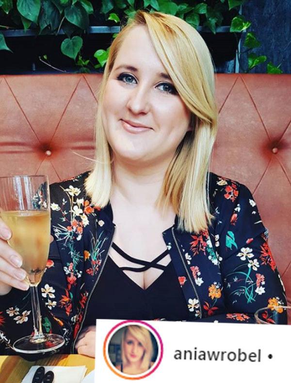 Ania Wróbel ma powody do świętowania /Instagram