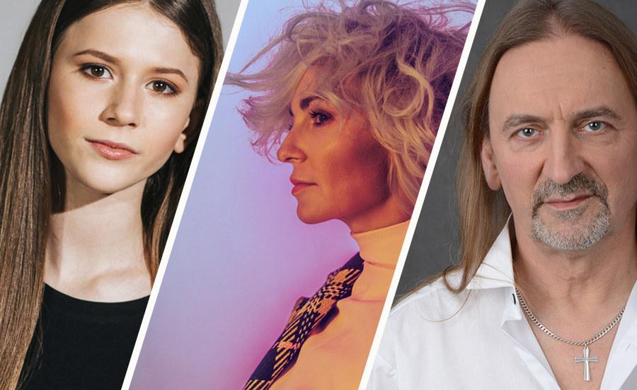 Ania Wyszkoni, Roksana Wegiel i Marek Piekarczyk /Grafika RMF FM