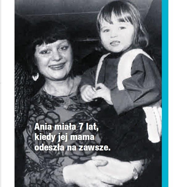 Ania z mamą /- /Dobry Tydzień