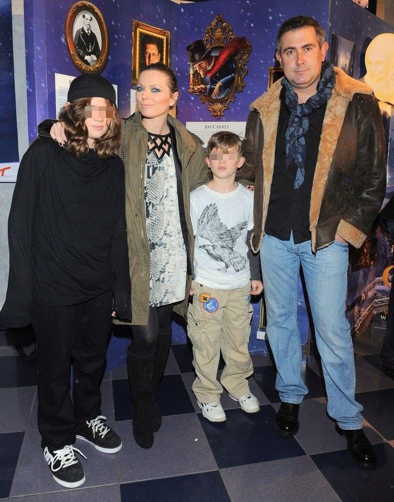 Ania z mężem i dziećmi /- /East News