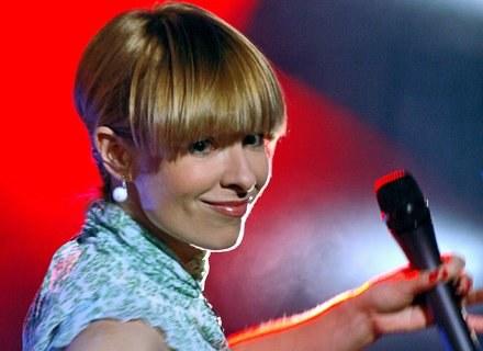 Ania Zalewska-Ciurapińska - wokalistka zespołu Big Day/fot. M. Ulatowski /MWMedia