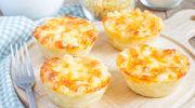 Anielskie muffiny z makaronem