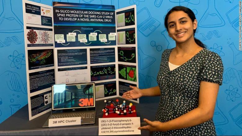 Anika Chebrolu /Fot. 3M Young Scientist Challenge 2020 /materiały prasowe