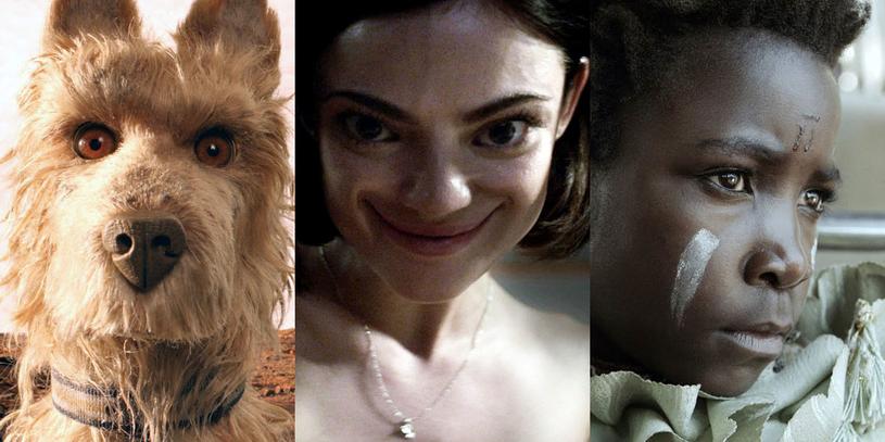 """Animowany bohater """"Wyspy psów"""", jedna z protagonistek horroru """"Prawda czy wyzwanie"""" i odtwórczyni głównej roli w filmie """"Nie jestem czarownicą"""" /materiały dystrybutora"""