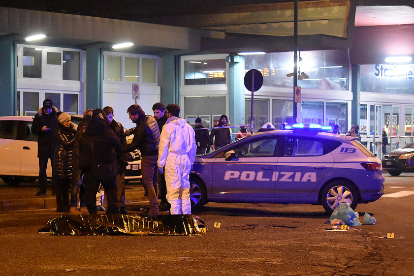 Anis Amri został zastrzelony przez policję w Mediolanie w nocy z 22 na 23 grudnia 2016 roku /DANIELE BENNATI  /AFP