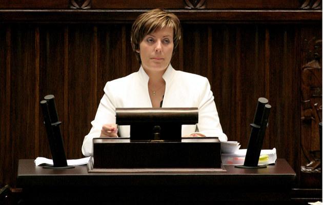 Anita Błochowiak w Sejmie /fot.Arkadiusz Cygan  /MWMedia