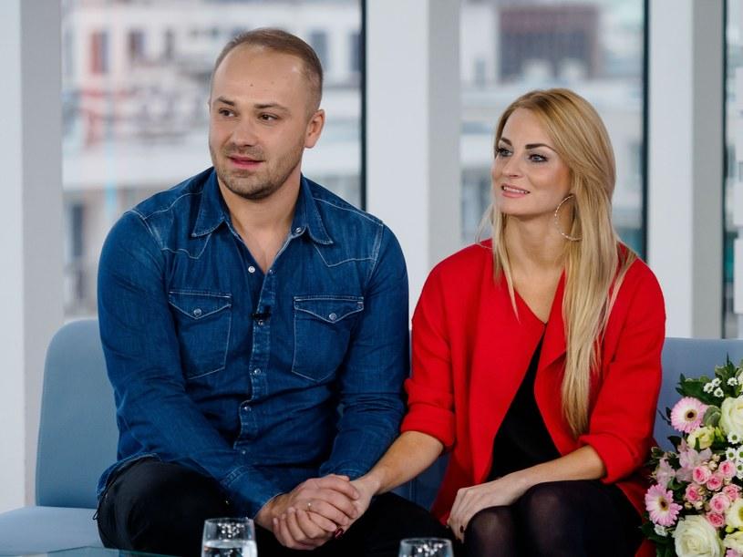 """Anita i Adrian to uczestnicy trzeciej edycji programu """"Ślub od pierwszego wejrzenia"""" /East News"""