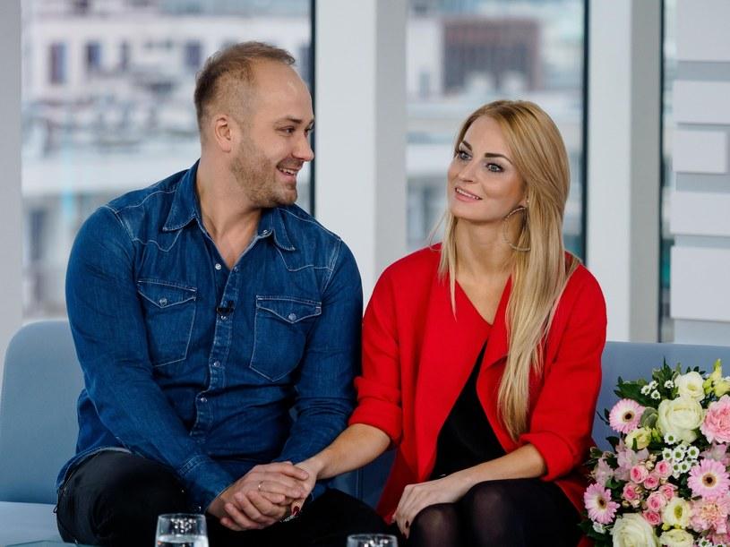 """Anita i Adrian z programu """"Ślub od pierwszego wejrzenia"""" czekają na potomka /Tomasz Urbanek /East News"""
