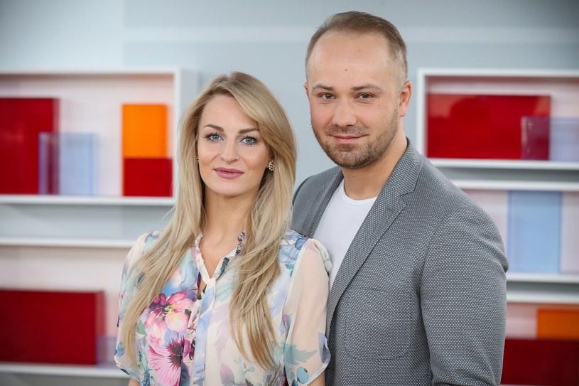 """Anita i Adrian ze """"Ślubu od pierwszego wejrzenia"""" /Kamil Piklikieiwcz /East News"""