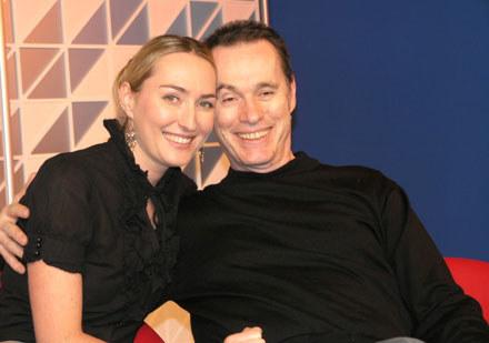 Anita Lipnicka i John Porter w studiu INTERIA.TV /INTERIA.PL