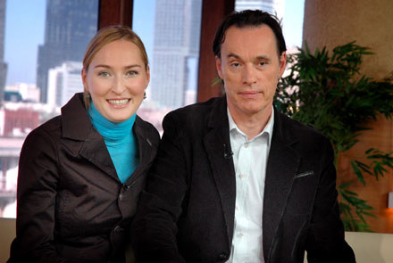 Anita Lipnicka i John Porter /MWMedia