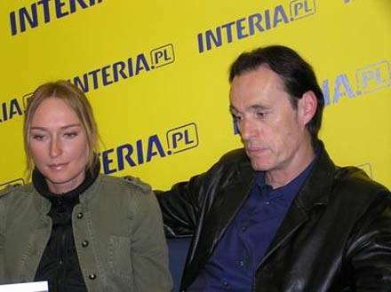 Anita Lipnicka i John Porter /INTERIA.PL