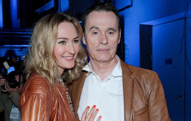 Anita Lipnicka ze swoim partnerem, Johnem Porterem, fot.Paweł Przybyszewski  /MWMedia