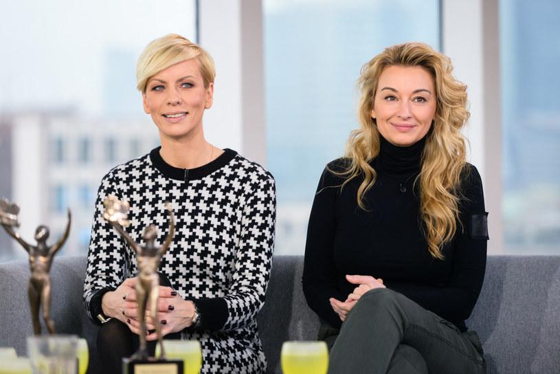 Anita Werner i Martyna Wojciechowska od lat bardzo się przyjaźnią /Olszanka /East News