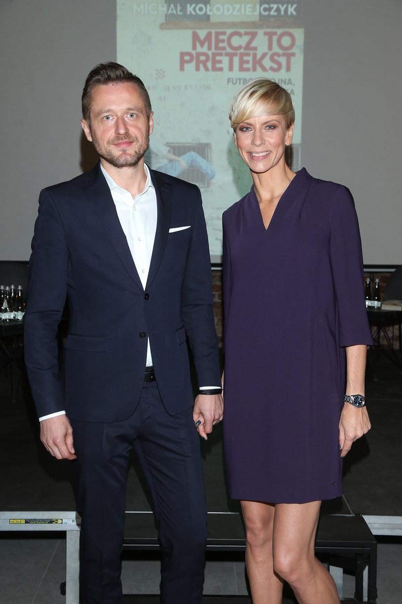 Anita Werner z ukochanym /Paweł Wrzecion /MWMedia